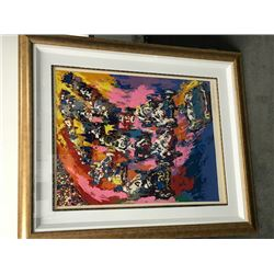 Indy 500 by Leroy Neiman