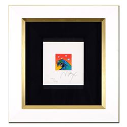 Great Wave with Doves by Peter Max