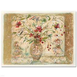 Amy Rebecca's Floral Fantasy by Hibel (1917-2014)