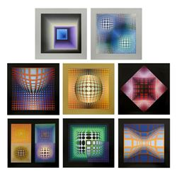 Structure Universelles Du Damier by Vasarely (1908-1997)