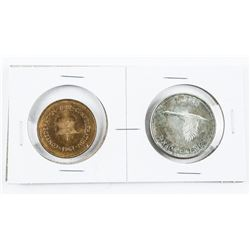 1867-1967 Silver Dollar Plus RCM Medal