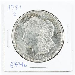 1921(D) US Morgan Dollar EF40