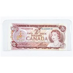 Bank of Canada 1974 2.00 * Replacement BC-47a (EF)
