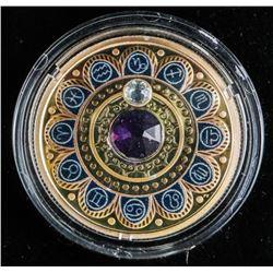 .9999 Fine Silver $3.00 Coin 'Zodiac-Capricorn'
