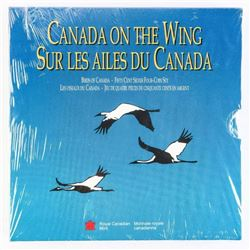 CANADA On The Wing 4x925 Silver 50 Cent
