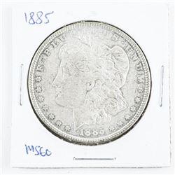 1885 US Morgan Dollar MS60