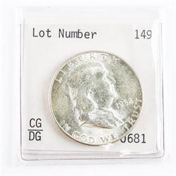 1952 USA Franklin 50 Cents HI Grade