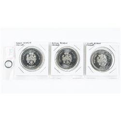 Lot (3) Nova Scotia Trade Dollars
