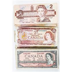 Estate Lot (83) Bank of Canada 2.00 Mixed