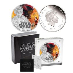 Disney - Star Wars Coin .9999 Fine Silver Cased