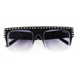 Estate 'CELINE' Sunglasses Studded Rim