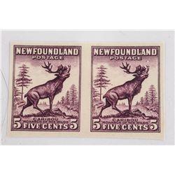 Estate Newfoundland - 5 Cent Stamps Caribou CAT 19