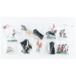 Estate 14pc Die Cast 'Horse and Guard' Set,