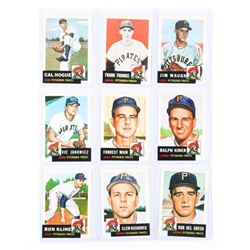 Group (9) Topps Baseball Reprints Cards