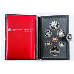 RCM 1983 Proof Set Leather Case