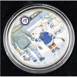 9.9 Fine Silver $10.00 Coin Winnipeg Jets' LE/C.O.