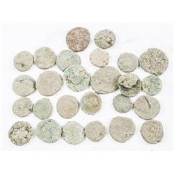 Lot (26) Ancient Roman Coins Uncleaned