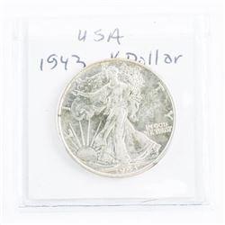 Canada 1943 Silver Half Dollar MS63