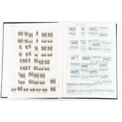 Estate CANADA MINT Stamp Collection, Blue Book Fac