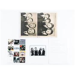 Vintage Beatles Newspaper Photo Dated Feb 17, 1964