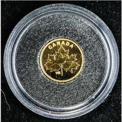 .9999 RCM Fine Pure Gold 2019 25 Cent Bouquet of M
