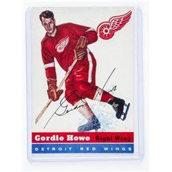 1954 Topps Gordie Howe Card