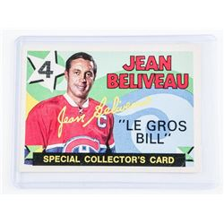 1971 OPEE CHEE Jean Beliveau Special Collector Car