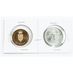 1867-1967 Centennial Silver Dollar and RCM Medal