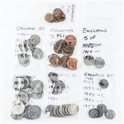 Estate Bag Lot Coins 'England'