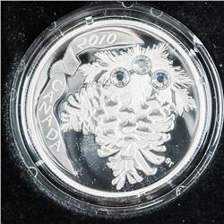 2010 .999 Fine Silver $20.00 Coin 'Holiday Pine Co