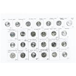 Lot (25) USA Quarter Dollars Mixed