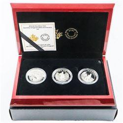 2015 RCM 3 Coin Subscription Set 'C. Krieghoff' 20
