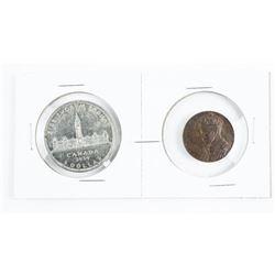 Royal Visit 1939 Silver Dollar and Medal
