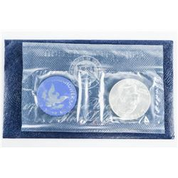 1774-1974 Silver Eisenhower UNC Dollar