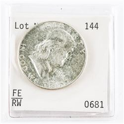 1951 Silver Franklin Half Dollar