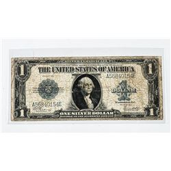 1923 USA 1.00 Silver Certificate Blue Seal (IE)