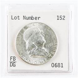 1953 Silver Franklin Half Dollar