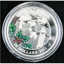 .9999 Fine Silver $10.00 Coin 'Little Skaters' (IR