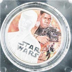.9999 Fine Silver Star Wars Coin 'FINN' 1oz ASW