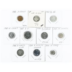 Group (10) Estate - Coins World Issues