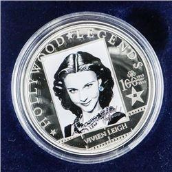 Hollywood Legend 'Vivien Leigh' 925/1000 Silver 5.