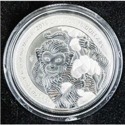 .9999 Fine Silver Year of the Monkey Coin.