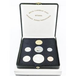 1867-1967 Specimen Coin Set, Silver with loon Doll