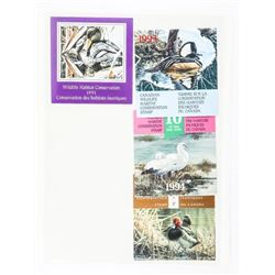 Lot (10) Wildlife Mint Stamps. CAT 275.00