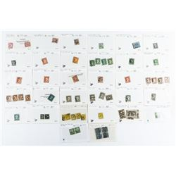 Collection Canada Stamp CAT VALUE $1545.50