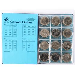 Canada Nickel Dollar Collection (48 Coins)