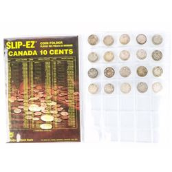 Book of 20 Canada Historical Years 925 Sterling Si