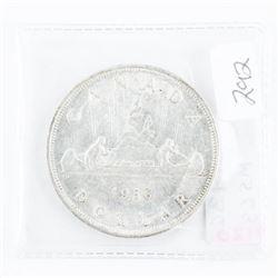 1936 Canada Silver Dollar MS63. (SMR) (8)