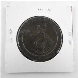 Great Britai 2 Pence KM#619 Copper (VF+)