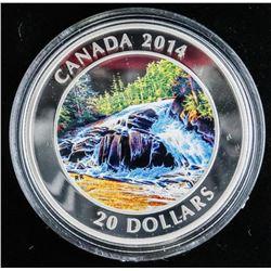 .9999 Fine Silver $20.00 Coin 'River Rapids' (SXR)